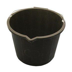14L Builders Bucket (Black)