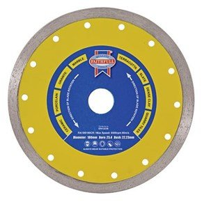 Faithfull Ceramic Series 115mm Diamond Blade