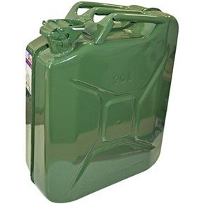 Faithfull 20 Litre Green Jerry Can