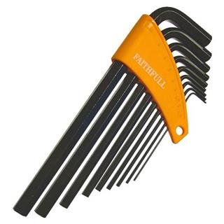 Faithfull Long Metric Allen Keys (9pc)