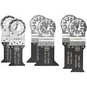 Fein Best of E-cut Multi-material Starlock Multi-tool Blade Set (6pcs)