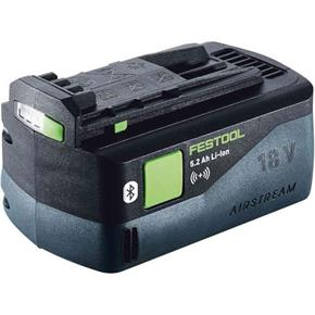 Festool 18V 5.2Ah Li-ion Airstream Bluetooth Battery