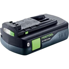 Festool 18V 3.1Ah Li-ion Compact Bluetooth Battery