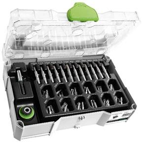 Festool Mini-Systainer with 74pc Centrotec Accessory Set