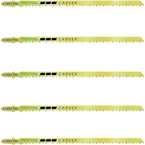 Festool 145mm HCS Universal Jigsaw Blades for Wood (5pk)