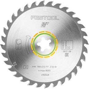 Festool TCT Sawblade 492048 190mm 32 Teeth