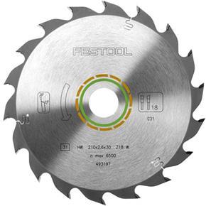 Festool TCT Sawblade 493197 210mm 18 Teeth