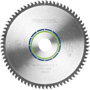Festool TCT Sawblade 493201 210m 72 Teeth