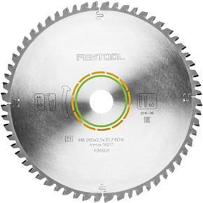 Festool TCT Sawblade 494604 260mm 60 Teeth