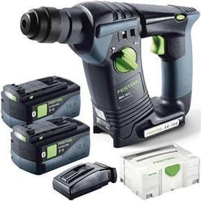 Festool BHC18 18V Brushless SDS Drill (2x 6.2Ah Bluetooth)