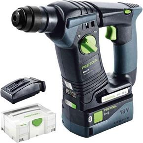 Festool BHC18 18V Brushless SDS Drill (1x 5.2Ah Bluetooth)