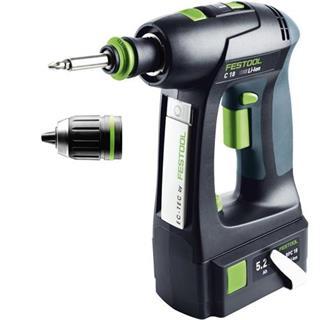 Festool C18 Li 5.2 18v Drill Driver (5.2Ah)