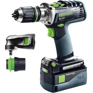 Festool QUADRIVE DRC 18v Drill Driver Set (5.2Ah)