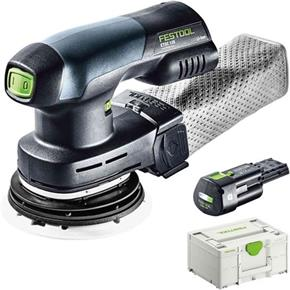 Festool ETSC 125 18V/240V Sander (Naked) *PROMO* with 3.1Ah Battery