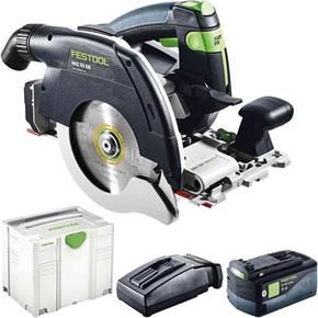 Festool HKC 55 18V Brushless Circular Saw (1x 5.2Ah Bluetooth)