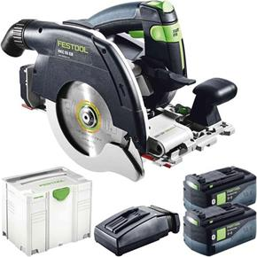 Festool HKC 55 18V Brushless Circular Saw (2x 5.2Ah Bluetooth)
