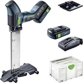 Festool ISC240 18V Insulating Material Saw (2x 3.1Ah Bluetooth)