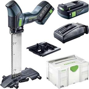 Festool ISC240 18V Insulating-Material Saw (2x 3.1Ah Bluetooth)