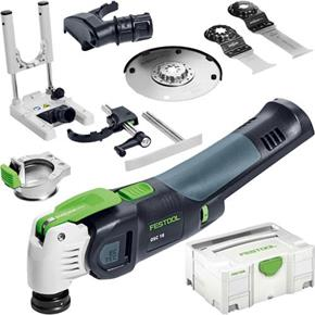 Festool OSC18 StarlockMax 18V Multi-Cutter Set (Naked)