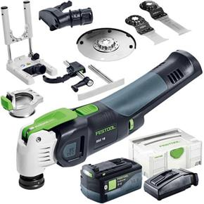 Festool OSC18 StarlockMax 18V Multi-Cutter Set (1x 5.2Ah Bluetooth)