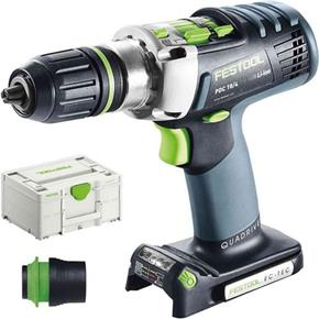 Festool QUADRIVE PDC 18V Combi Drill (Naked)