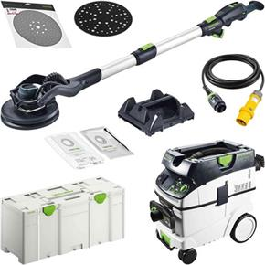 Festool Planex 2 Set: Drywall Sander & Extractor