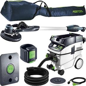 Festool Planex-Easy Set: Sander + CTM36 Extractor (Bluetooth)