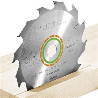 Festool TCT Sawblade 500460 160mm 12 Teeth