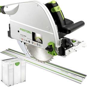 Festool TS 75 1600W 210mm Plunge Saw + 1.4m Guide Rail