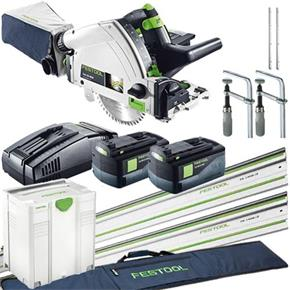 Festool TSC 55 18V Complete Kit OFFER (2x 6.2Ah, SCA8)