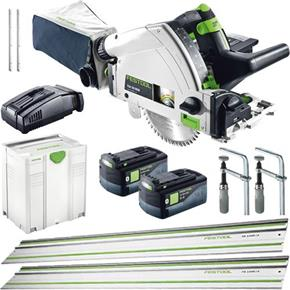 Festool TSC 55 18V Complete Kit OFFER (2x 5.2Ah Bluetooth)