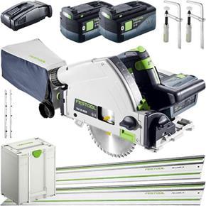 Festool TSC55K 18V Fast-cut Plunge Saw Kit Deal (2x 6.2Ah Bluetooth)