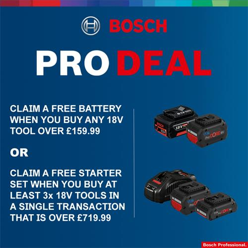 Bosch GBH18V-26F 18V BL SDS Drill (2x 8Ah ProCore, Chuck)