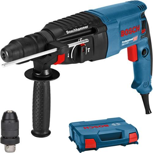 bosch gbh 2 26 f 830w sds plus hammer drill quick change chuck 240v. Black Bedroom Furniture Sets. Home Design Ideas