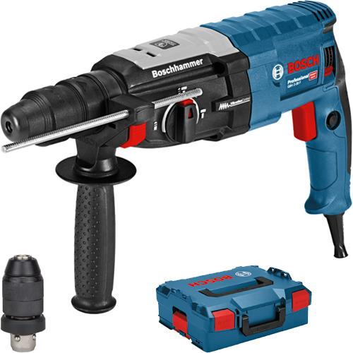 bosch gbh 2 28 f sds plus hammer drill with qc chuck 110v. Black Bedroom Furniture Sets. Home Design Ideas