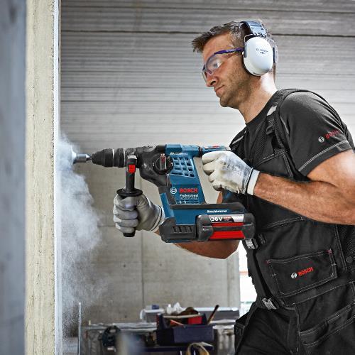 Bosch GBH36VF-Li Plus 36v SDS Drill (3x 4Ah)