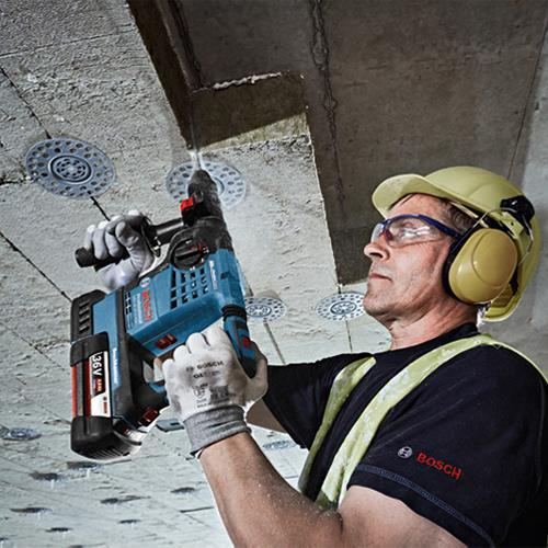 Bosch GBH36VF-LI Plus 36V SDS Drill (Naked, L-Boxx)