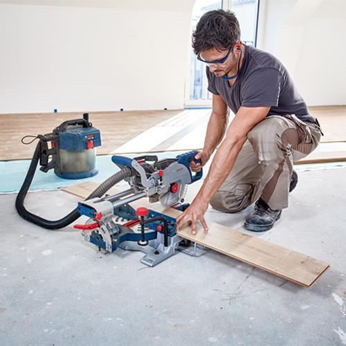Bosch GCM 18V-216 18V BITURBO Sliding Mitre Saw (2x 8Ah ProCore)