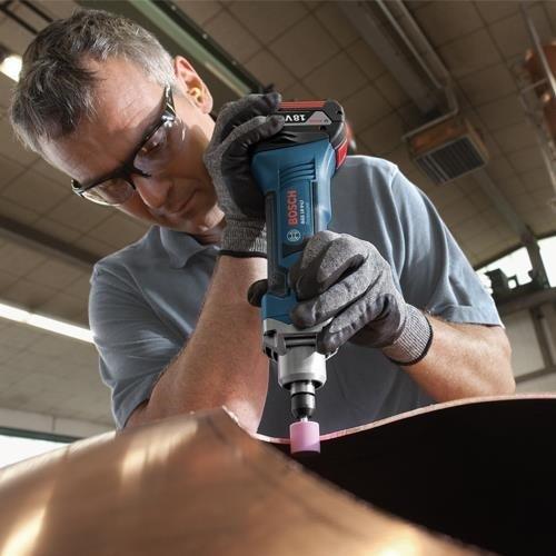 Bosch GGS18V-Li Straight Grinder (Naked in L-Boxx)