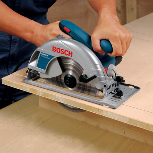 bosch gks 190 190mm circular saw with blade case 110v. Black Bedroom Furniture Sets. Home Design Ideas