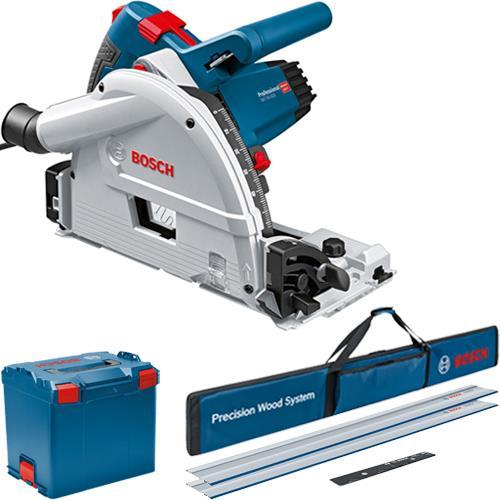 Bosch GKT55GCE Plunge Saw + Rail Kit