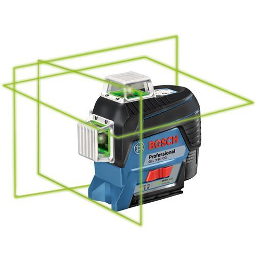 Bosch GLL 3-80 CG 30m 360° Green Multi-Line Laser