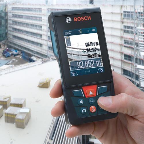 Bosch GLM120C 120m Laser Measure with BT150 Tripod