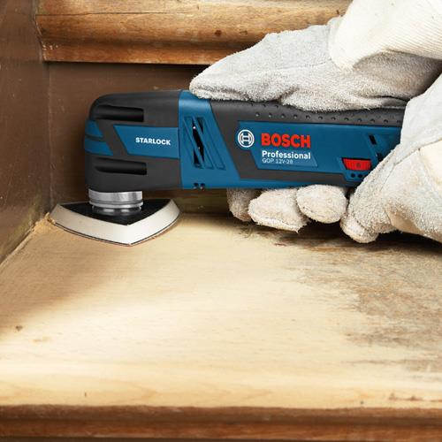 Bosch GOP12V-28 Brushless Multi-Tool Kit (2x 2.5Ah, 12 Accs, L-Boxx)