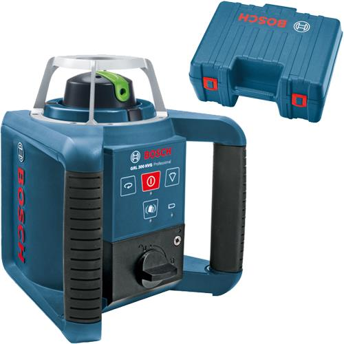 Bosch GRL 300 HVG 100m Green Rotating Laser Level