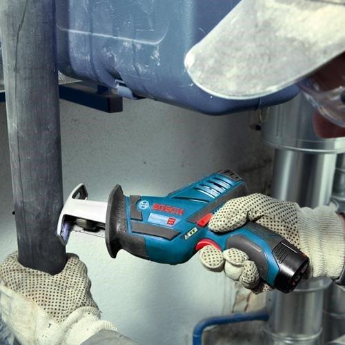 Bosch GSA12V-14 Sabre Saw (2x 2Ah, L-Boxx)