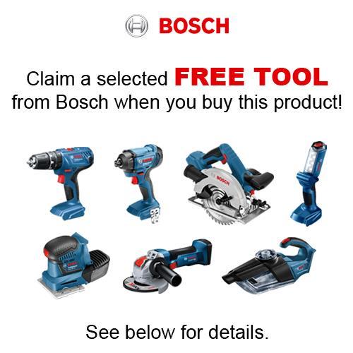 Bosch GSB 18V-85 C 18V Brushless Robust Series Combi Drill (2x 6Ah)