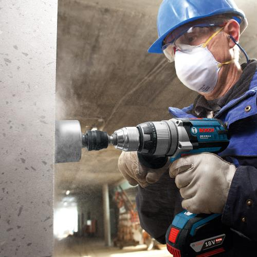 Bosch GSB18VE-2-Li 18V RobustSeries Combi Drill (2x 5Ah)