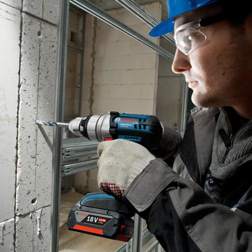 Bosch GSB18VE-2-Li Robust 18v Combi Drill (2x 4Ah)