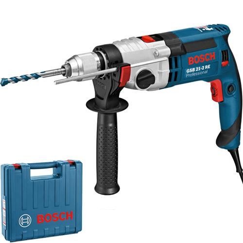 bosch gsb21 2re impact drill 2 speed 1100w 240v. Black Bedroom Furniture Sets. Home Design Ideas